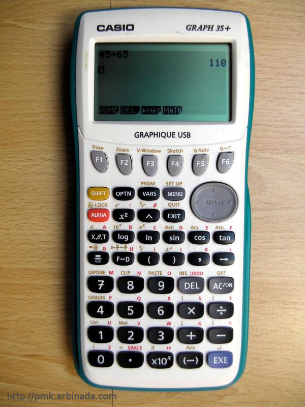 CASIO fx92 Graph 35+
